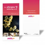 Allergy Brochure Front & Back